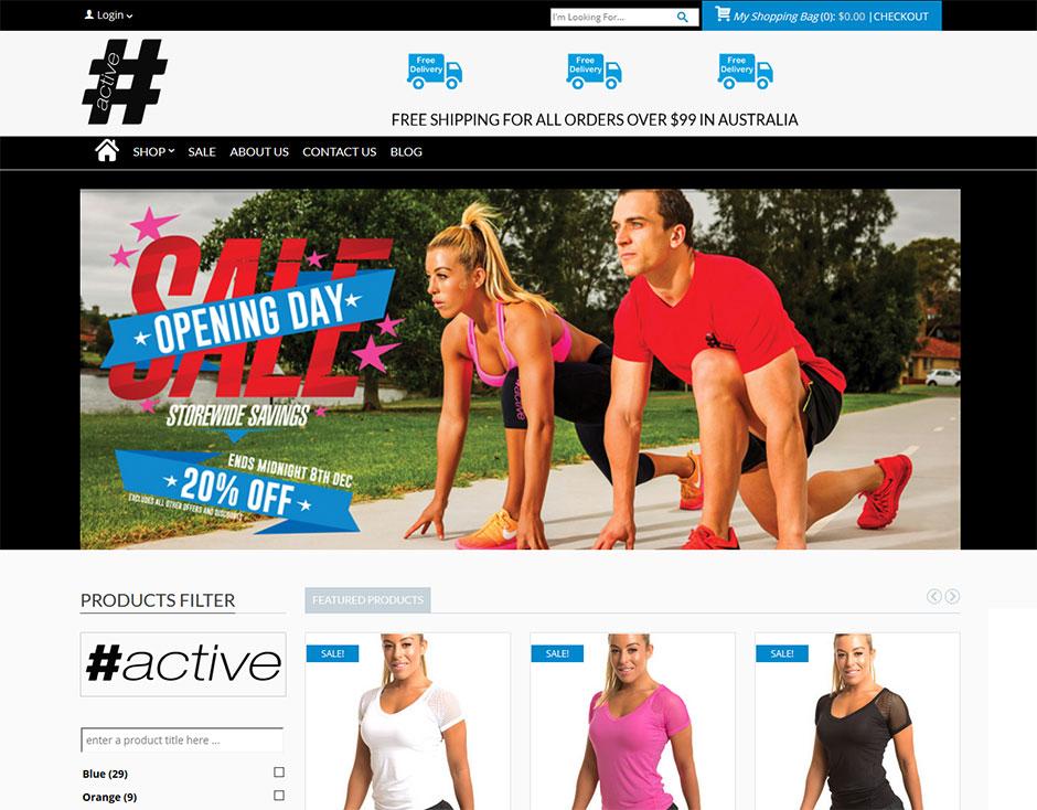 Active-Wear-Website-Design